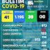 NOVO HORIZONTE-BA: BOLETIM INFORMATIVO SOBRE O CORONAVÍRUS ( 25/12/2020)