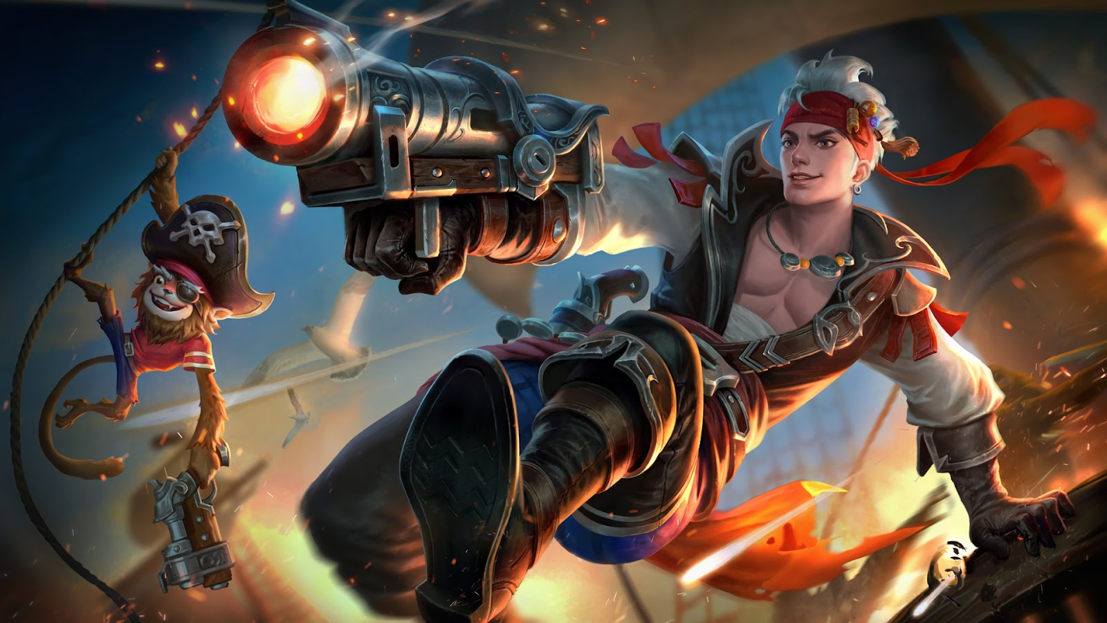 Wallpaper Claude Plunderous Pirate Skin Mobile Legends HD for PC