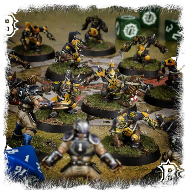 Element Games: Discounted Blood Bowl Scarcrag Snivellers – Goblin Team