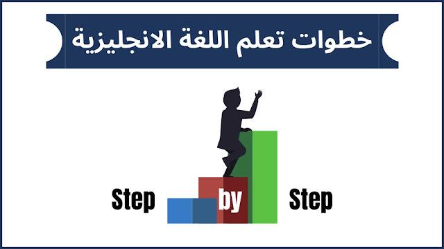 خطوات تعلم اللغة الانجليزية