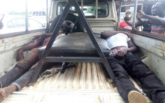 2 dead in heavy gunfire at Taifa Burkina; 23 arrested