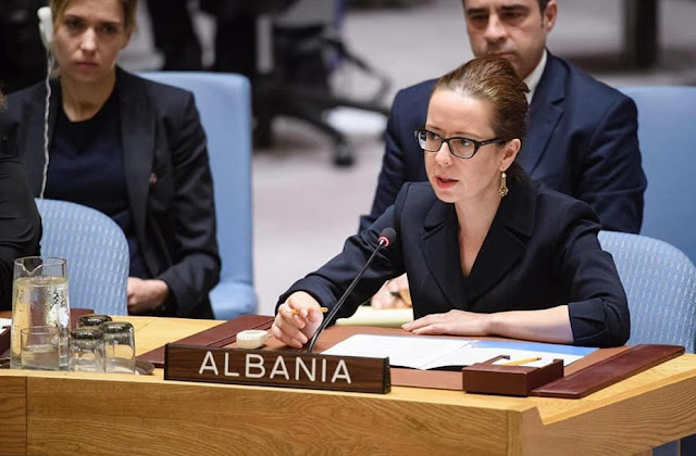 Besiana Kadare elected Vice President of the UN General Assembly