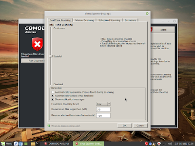 Comodo Antivirus for Linuxスクリーンショット6