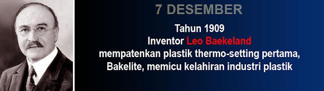 Sejarah Penemu plastik Leo Baekeland