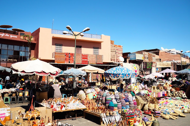 place des epices marrakech morocco souks