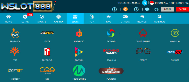 Wslot888 Situs Slot Online Deposit Pulsa Tanpa Potongan