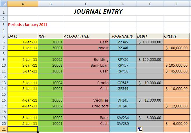 journal entry excel template koni polycode co
