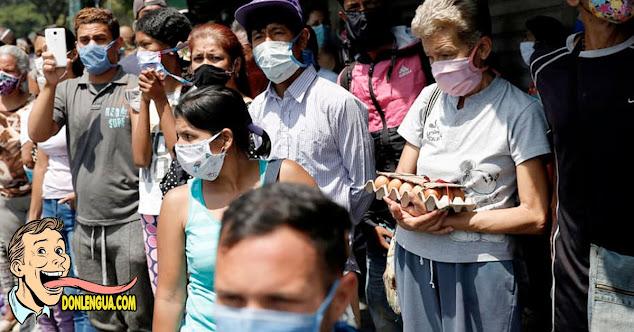 100.000 casos del virus esparcidos por toda Venezuela - Régimen Irresponsable