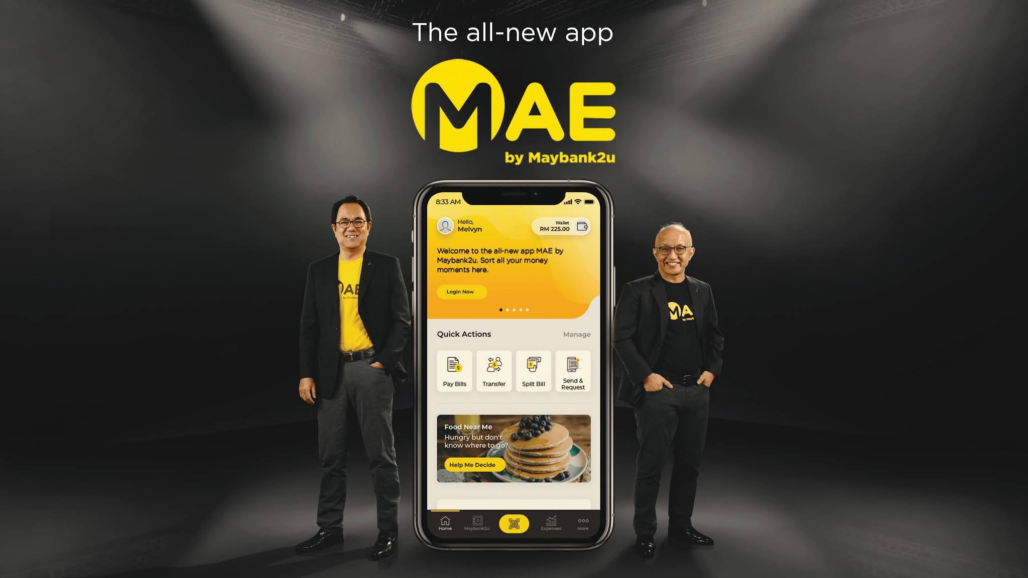 MAE Tabung & MAE Visa Debit card on MAE App by Maybank2u