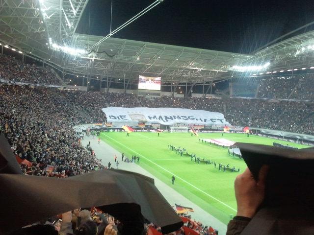 Für Den Fussball Unterwegs 11102015 Deutschland Georgien 21