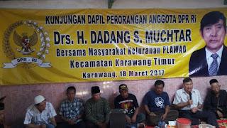 Kunjungan Dapil Perorangan, Bapak Hotmix Karawang Dihujani Kritikan