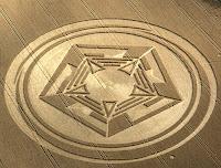 cerchio nel grano, pentagono
