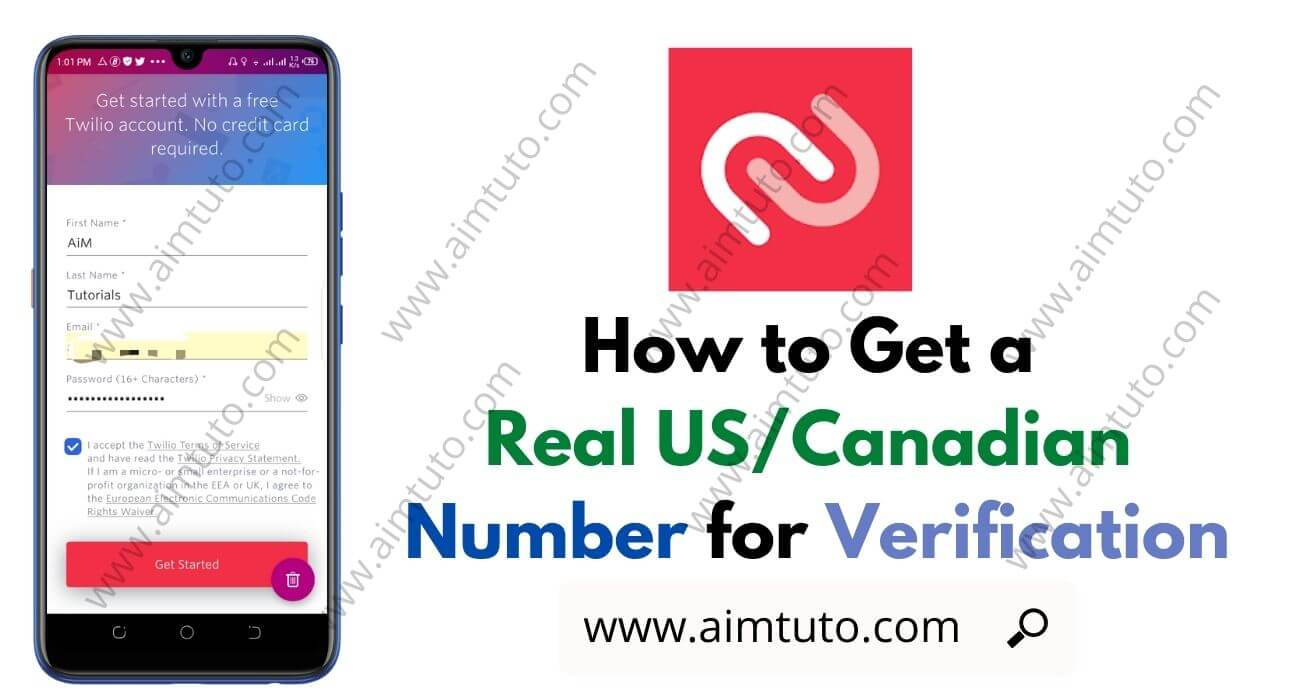 How to Get a Free Real US/Canadian Virtual Phone Number for Verification