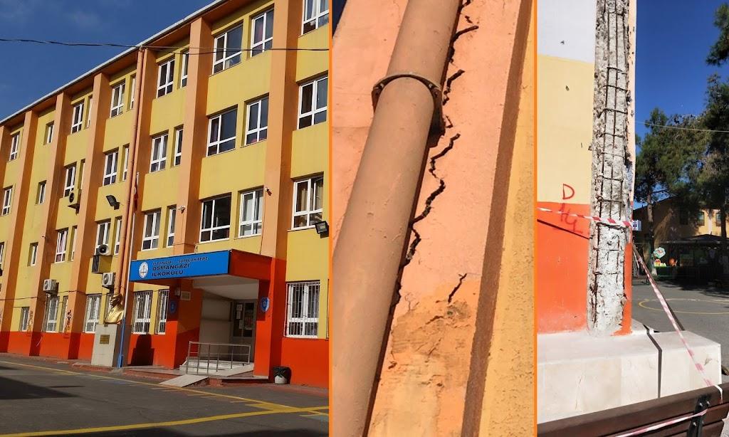 Sarıgazi'de veliler tedirgin: Okul yeniden yapılmazsa...