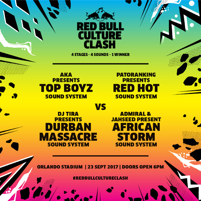 Will You be Supporting Admiral & Jahseed and Reggae? #RedBullCultureClash @RedBullZA