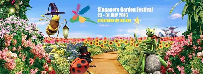 when i needed to be in singapore this week i made sure to check out the singapore garden festival at the gardens by the bay as with all things organized