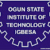 OGITECH 2017/2018 Full Time [ND/HND] Admission Form Now On Sale