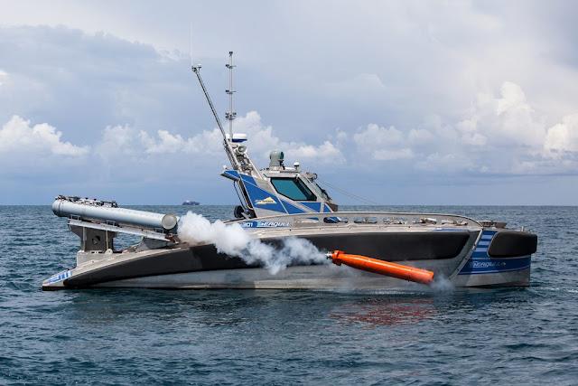 صائد الغواصات الإسرائيلي النورس Seagull