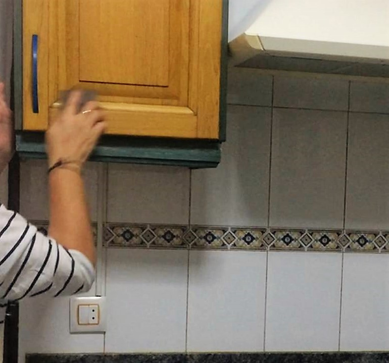 Diy como transforme mi cocina for Como hacer mi cocina