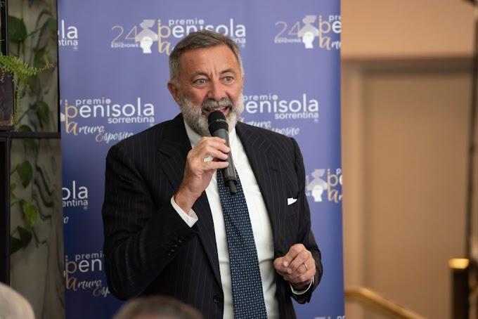 Cultura: Barbareschi confermato alla presidenza del Premio Penisola Sorrentina 2021