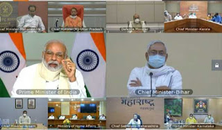 modi-reviews-flood-situation-with-chief-ministers