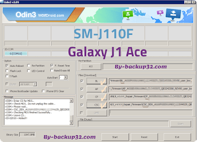 سوفت وير هاتف Galaxy J1 Ace موديل SM-J110F روم الاصلاح 4 ملفات تحميل مباشر