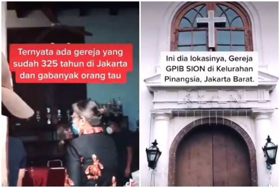 Jarang Diketahui, Ini Gereja Tertua Berumur 325 Tahun yang Ada di Jakarta