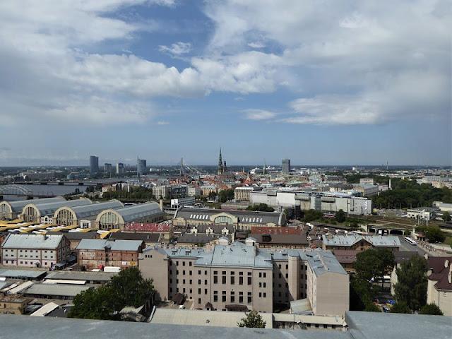 panorama dalla terrazza del palazzo dell'accademia della scienza