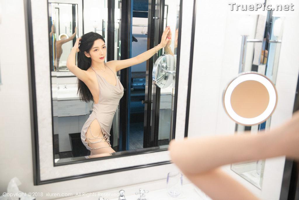 Image XIUREN No.1141 - Chinese Model - Xiao Reba (Angela小热巴) - Sexy Dress Tonight - TruePic.net - Picture-33