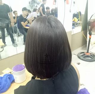 Cách nhuộm màu nâu khói trên nền tóc tự nhiên