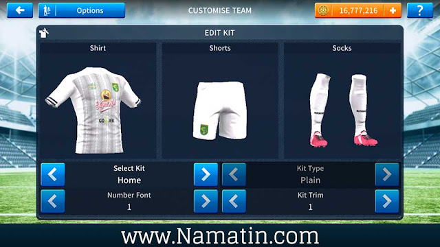 Baju Dream League Soccer Persebaya 2020