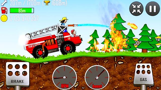 تحميل لعبه Hill Climb Racing كاملة