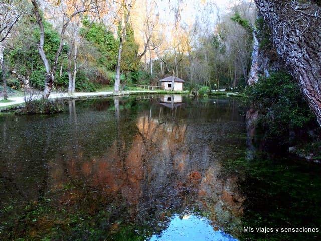 Lago del espejo, Monasterio de Piedra, Nuévalos (Zaragoza)