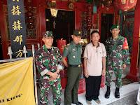 Danramil 03/Serengan Kodim 0735 Surakarta Jalin Komsos dengan Pengurus Klenteng