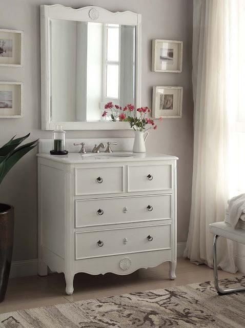 34 Inch Bathroom Vanity: Discount Bathroom Vanities: 34 Inch Bathroom Vanity White