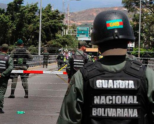Cronología del cierre de la frontera de Venezuela con Colombia
