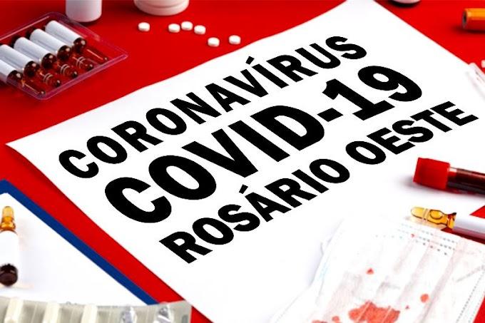 Rosário Oeste não registrou nenhum caso novo de covid-19 neste sábado (23)