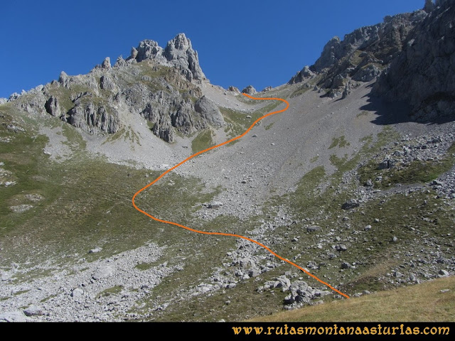 Ruta a la Torre del Friero: Pedrera a la Collada Chavida