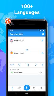 تحميل تطبيق itranslate pro apk النسخة المدفوعة مجانا