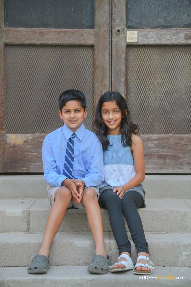Ann Arbor Indian Kids Family Portrait Photography in Spring Summer Outdoors SudeepStudio.com