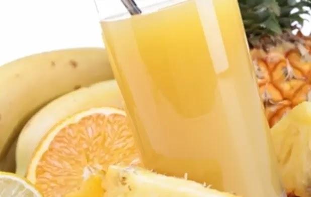 عصير الأناناس مع الباجاس البرتقالي ممتاز لخفض الدهون الثلاثية