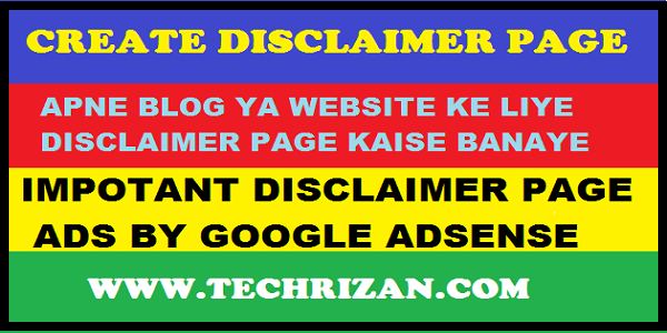 How To Write Disclaimer For Website Content