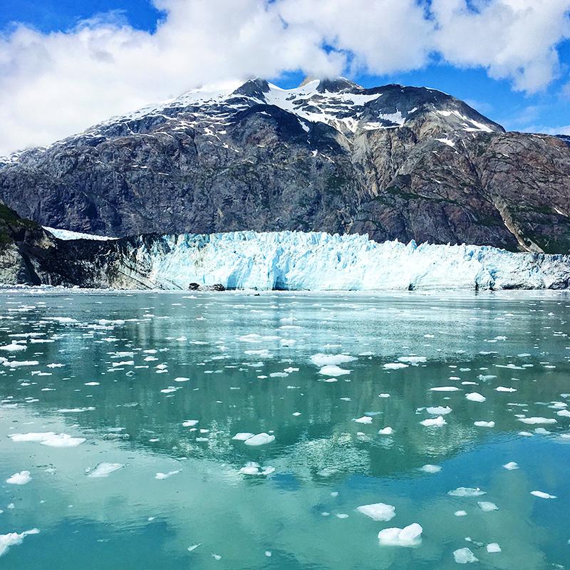 Glacier Bay, Glacier, Glacier Calving, Lumiere and Lens, Lumiere Lens, Glaciers