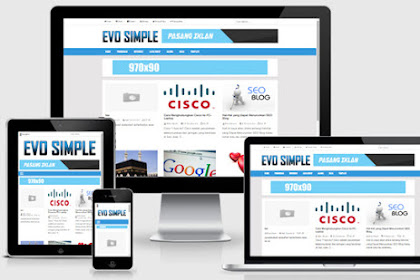 Evo Simple Responsive Blogger Templates
