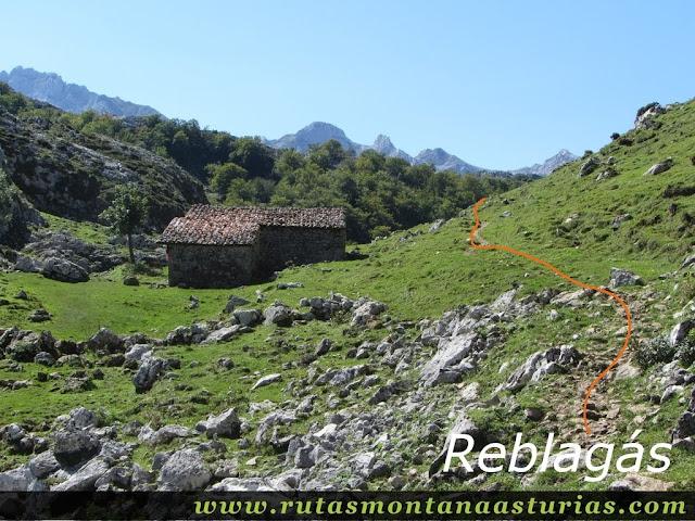 Ruta Lagos de Covadonga PR PNPE-2: Reblagas