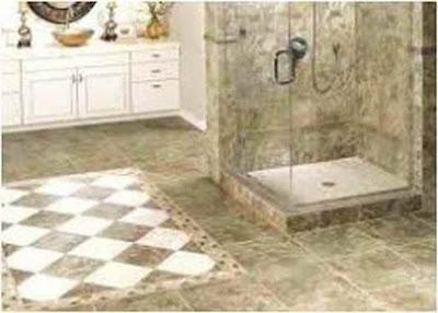 Inspiring bathroom floor porcelain tiles for you