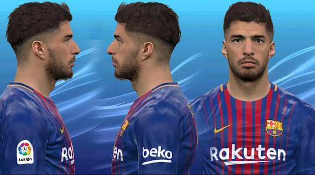 Luis Suarez New Face PES 2017