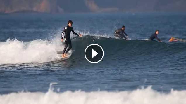 Nicolas Garcia Nikidora - Longboard Surf Film