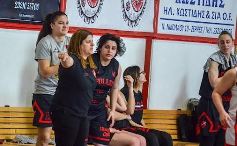 Προπονήτρια στο γυναικείο του Απόλλωνα Καλαμαριάς η Κατερίνα Καρακασίδου