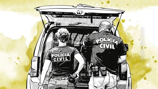 delegadas 24 inspetores crimes associacao criminosa
